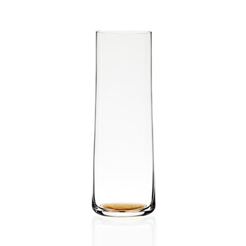 Gold Dot Carafe, H26 x L9 x W9cm, clear