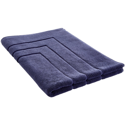 Egyptian Cotton Luxury Bath mat, 60 x 90cm, British Navy