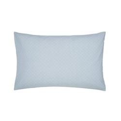 Chinese Bluebird Pair of standard pillowcases, L48 x W74cm, aqua
