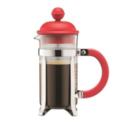 Caffettiera 3 cup coffee maker, 35cl, red