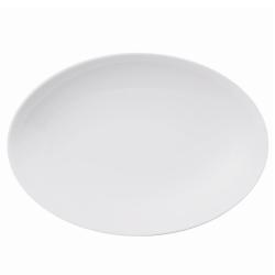 Loft Oval platter, 27cm, White