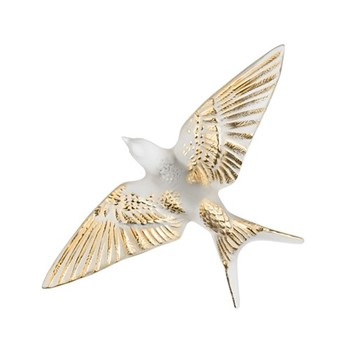 Wall swallow wings down H6 x L15 x W23.5cm