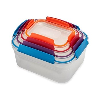 Nest 4 piece container set, multicolour