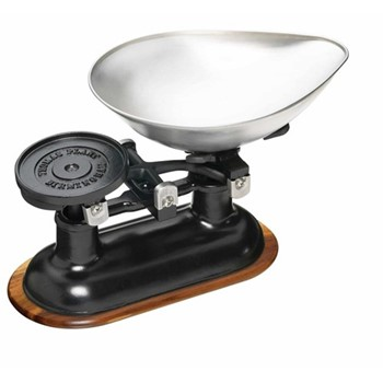 Natural Elements Mechanical kitchen scales, black