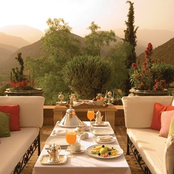 Gift Voucher towards one night at The Kasbah Tamadot for two, Atlas Mountains
