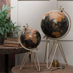 Small decorative globe D45 x 21cm