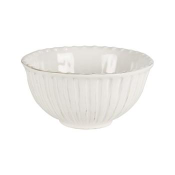Lamorran Small serving bowl, D19 x H9.5cm, white