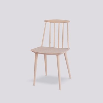 J77 Solid beach chair, H79 x W43 x D43cm, natural