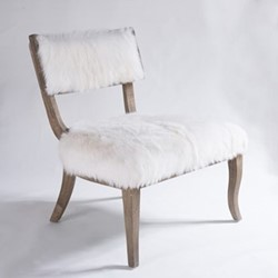 Murphy Chair, W69 x H80 x D68.5cm, rustic wood