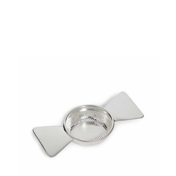 Audley Butterfly tea strainer, W13 x H2.5cm, silver