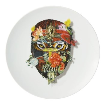 Love Who You Want - Mister Tiger Dessert plate, 23cm, white