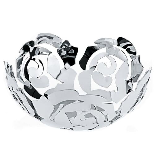 La Rosa by Emma Silvestris Fruit bowl, 21cm, Stainless Steel