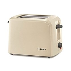 Village Collection 2 slice toaster, 31 x 16 x 19cm, cream
