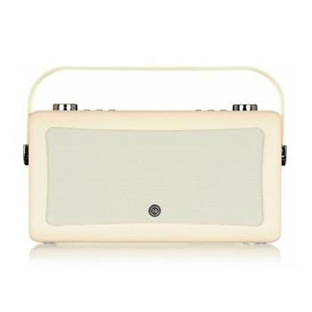 Hepburn Mk II DAB radio, H16.6 x W31.4 x D9.4cm, cream