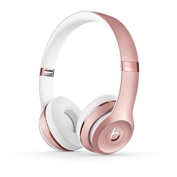 Beats Solo3 Wireless on-ear headphones, rose gold