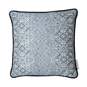 Nahuala Cushion, 50 x 50cm, blue