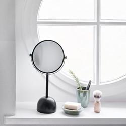 Yana Mirror, 19.5 x 37cm, black