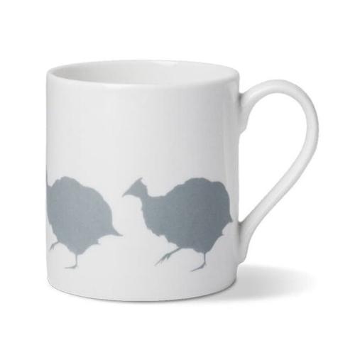 Guinea Fowl Mug, Dia8.5 x H9cm - 1 pint