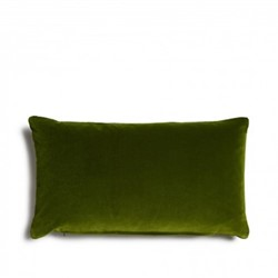 Monroe Oblong cushion, H35 x W65cm, moss green