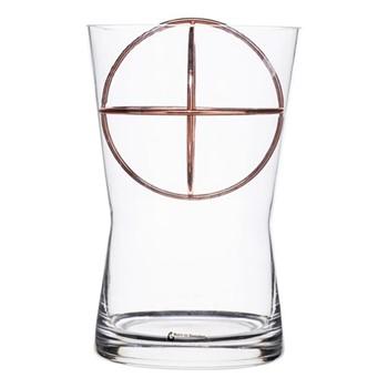 Sphere Medium vase, Dia14.5 x 22cm, copper