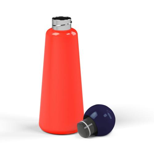Skittle Water bottle, 500ml, Coral/Indigo