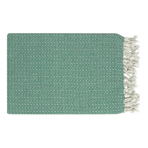 Super-Luxe Beach towel, 95 x 165cm, Green