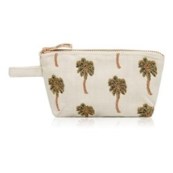Kenya Collection - African Palmier Mini Pouch, 16 x 10cm, natural