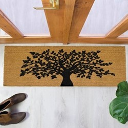 Tree Of Life Patio doormat, 120 x 40cm
