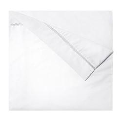 Walton King size duvet cover, 240 x 220cm, white