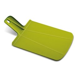Chop2Pot Plus Small folding chopping board, 22 x 26cm, forest green