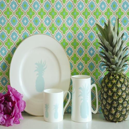 Pineapple Mug, Dia8.5 x H9cm - 1 pint