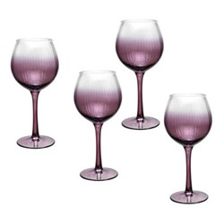 Kingsley Wine glass, 0.52 litre, plum