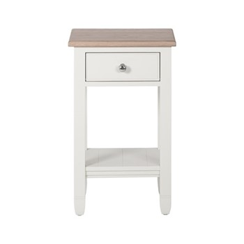 Chichester Open bedside cabinet, W43 x D38.5 x H72cm, shell