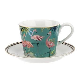 Tahiti - Flamingo Teacup & saucer