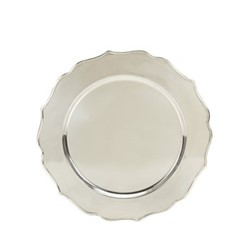 Fluted Platter, 32.5cm, silver plate