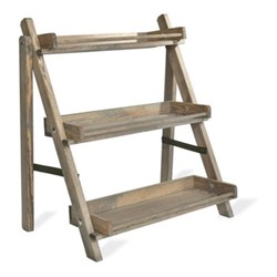 Aldsworth Plant stand, 73 x 67.5 x 48.5cm, natural