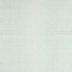Herringbone Woven cotton rug, W122 x L183cm, sky