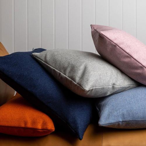 Islington Cushion, 45 x 45cm, Rust
