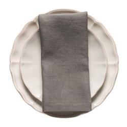 Porto Pair of napkins, 47 x 47cm, granite