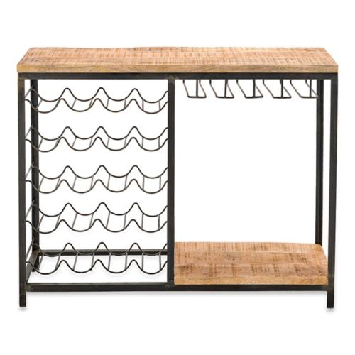 Obra Bar with Wine Glass Storage, H90 x W110 x D36cm