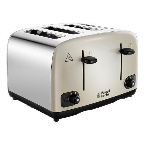 Cavendish - 24091 Toaster, 4 slice, cream