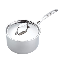 Fusion 5 Saucepan with lid, 2.7 litre - D18cm, stainless steel