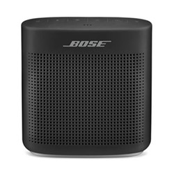 Soundlink Color II Portable bluetooth wireless speaker, H5.5 x W13 x D12.7cm, black