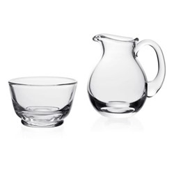 Country - Classic Classic sugar and cream set, clear