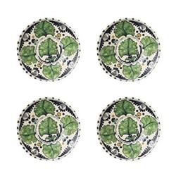 Set of 4 plates D28cm