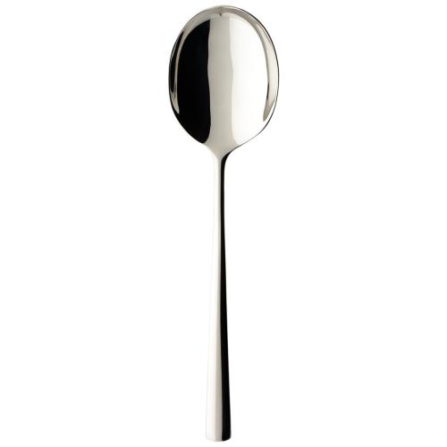 Piemont Salad serving spoon, Stainless Steel