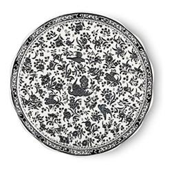 Regal Peacock Cake plate, 28cm, black