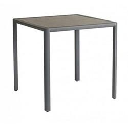 Fresco Table, 76 x 76cm, flint