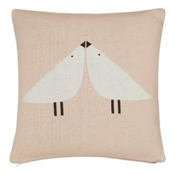 Composition & Padua Cushion, L45 x W45cm, blush