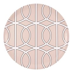 Loop Round tray, D38cm, blush